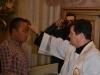Sakrament Chrztu św., bierzmowania, I Komunii św. i małżeństwa Yu Zhanga (Chiny) z Katariną Kodadova (Słowacja) 30.11.2014