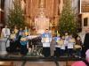 Konkurs na kartkę z życzeniami i uczestnicy Rorat 24.12.2013