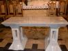 Nowy ołtarz, ambonka i chrzcielnica 18.12.2013