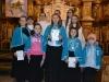 Uroczyste przyjęcie nowych dziewczynek do Dziewczęcej Służby Maryjnej (DSM) 8.12.2014