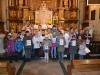 Zakończenie nabożeństw różańcowych i założenie dziecięcej róży im. Dzieci z Fatimy 31.10.2014